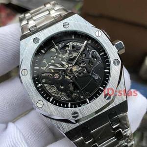Luxury Rose Gold Herren Automatic Skeleton Mens Designer Uhren Armbanduhren Orologio Di Lusso Royal Oaks Uhr Montre Orologio Da Polso