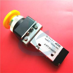 impresora de formato ancho piezas de repuesto de tinta flora LJ320 LJ3208 interruptor de flujo prime Ink válvula de botón de la tinta flora Q25R1C-L3-Y