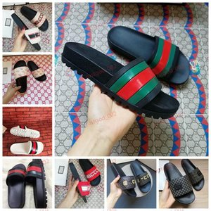 xshfbcl New Summer Leisure slippers progettista Rubber Slide Sandal Tiger Slide Beach progettista Slippers Mens lussuoso Flops Shoes Casual