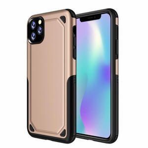 Pour Iphone 11 Pro Max 6 7 8 Plus XS MAX XR 2 En 1 PC TPU Chargeur sans fil Design Téléphone Case Cover