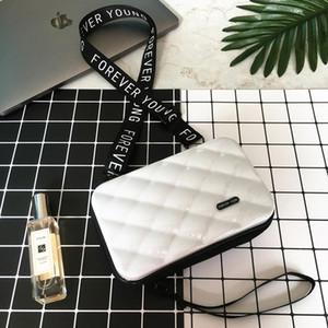 kadınlar 2019 çanta kadın çantası mini LOVEVOOK crossbody torbaları geniş torba Trunk Şekli askısı Kutu Flap çantası makyaj