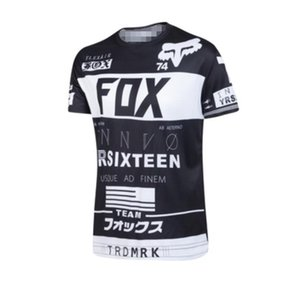 New hot selling FOX outdoor motorcycle racing cycling suit T-shirt summer off-road motorcycle short-sleeved T-shirt