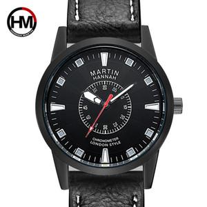 orologi da uomo al quarzo uomo orologio di marca di moda 40mm del quadrante orologio da polso in pelle guarda la vigilanza all'ingrosso online