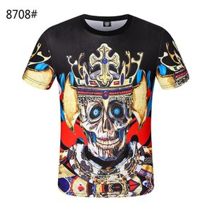 2020 men's designer, luxury stripe, High Street floral embroidered t shirt, crime, fashion stripe t shirt SHCPTX001