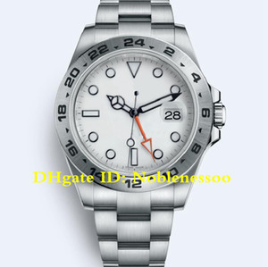 2 color Watch Men's White Dial II 42mm 216570 Watch Stainless Steel bracelet Automatic Mechanical Asia 2813 Men's Watches