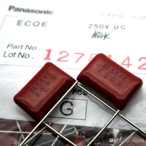 Japan Panasonic CBB Film Capacitor 684k 250V 0.68UF 680NF Pitch 15