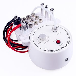 New 3 In 1 Diamond Microdermabrasion Dermabrasion Machine Water Spray Exfoliation Beauty Machine Wrinkle Facial Peeling Device DHL UPS free