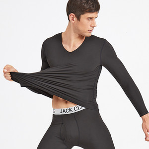 New Underwear térmica morna para Homens Mulheres Winter Thermo Lingerie Masculino Feminino Casal colorido macio Longa Underwear térmica Wear Suit