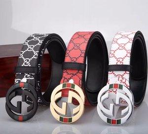 Cintos de designer Cintos de Luxo Casual Mens Womens Belt Marca com monstro Liso Buckle novidade Belt Largura 38 milímetros de alta qualidade