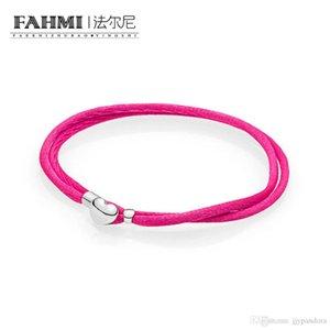 Fahmi 100% 925 Silver 1: Gioielli 1 originale 590749CPH Charm Bracelet autentico temperamento Fashion Glamour Retro Wedding Donne