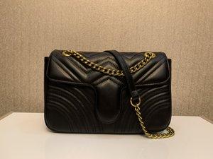 sap Omuz Çantası Zinciri Crossbody Çanta Alışveriş Bez çanta ile Lüks Klasik tasarım çanta Aşk Kalp V Dalga Desenli Satchel Çantalar