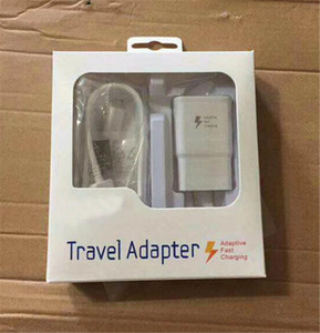 2 in1 Fast charger Kits Fast Charging Wall Charger Adapter+ 1.5M Micro USB Cable 15W Quick Adaptive Travel Adapter with Retail Package