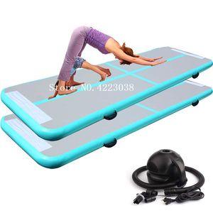3 * 1 * 0.2M gonfiabile ginnastica Mat Taekwondo flip Yoga Mat Mat Household Air Track Piano Trampolino Parkour multifunzionale Sport Mats