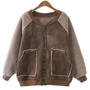 Herfst and Winter Short Losse Jas Women New Thick Warm BF Style Wool Parka Jas Students Overjas WZ107
