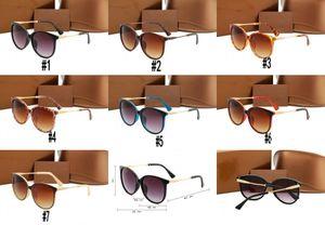 10 шт., Оптовая продажа 1719 солнцезащитные очки бренд дизайнер женщины мужчины мода стиль большой 3mix цвета рамы солнцезащитные очки Горячие вождения очки очки очки