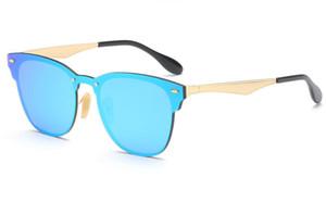 Neue mode frauen männer sonnenbrille marke designer für damen spike cat eye sonnenbrille brillen uv400 3576 mit fällen