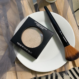 M Face Makeup Pressed Powder Extra Dimension Skinfinish Make Up Highlighter Shimmer Bronzers Powder With Brush