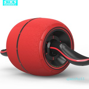 Wholesale-Rebound healthy Ab Rollers silent abdominal muscle exercise healthy belly wheel home fitness equipments