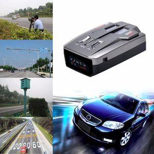 Top Black Fashion New V9 Détecteur de voiture Led d'affichage Voix Alert 16 Avertissement bande auto 360 degrés Radar Système laser Vitesse d'essai 30
