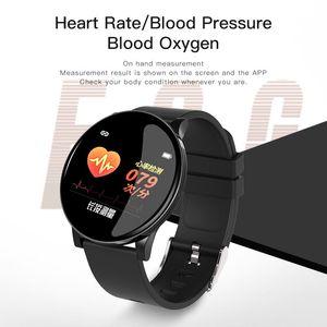 W8 samsung smart watch Wristband Pedometer Blood Pressure Heart Rate Fitness Bracelet Activity tracker Bluetooth reloj inteligente