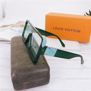 2019 Luxury МИЛЛИОНЕРА M96006WN Солнцезащитные очки полный кадр Vintage дизайнер солнцезащитные очки для мужчин Блестящие Золото Логотип Горячее надувательство Позолоченные Top 96006