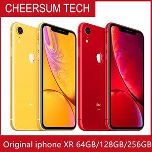 Отремонтированный оригинал разблокирован Apple iPhone XR 4G LTE мобильный телефон 6.1 '' 12.0MP 3G RAM 64G 128G ROM Сотовый телефон