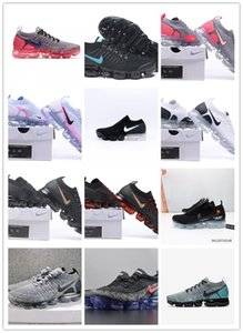 2019 New designer Men Running Shoes SneakersTrainers Racer Blue Sports Running 2 Triple White Black Dark Grey Team Women Shoes