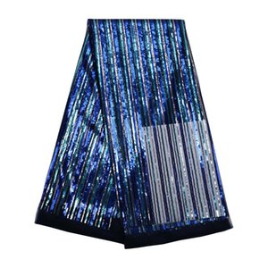 068 Hot Sales African sequins Lace Free Shipping(5 yards pack) Net Guipure Tulle Lace African Wedding Party