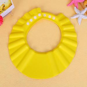 베이비 조정 샤워 캡 EVA는 아기의 건강 입욕 아이 아이 아이 세척 머리 방패 배치 모자 LJJA3304-2 샴푸를 보호