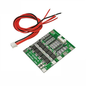Composants actifs Circuits intégrés 4S 30A 14.8V Li-ion lithium 18650 Batterie BMS Packs Protection Board PCB équilibre Circuits intégrés