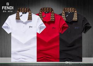 IDUZI Italie mon luxueux marques chaudes arrivées été hommes polo t-shirt de mode t-shirt à manches courtes hommes polos classiques style france
