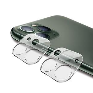 Handy-Kamera 3D Full coveraged Schirm-Schutz für iphone 11 pro max Hinteres Kameraobjektiv HD transparente Schutz gehärtetes Glas