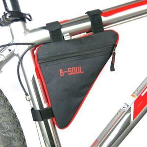새로운 안장 가방 자전거 산악 자전거 삼각형 키트 상단 튜브 빔 자전거 장비 액세서리 사이클링