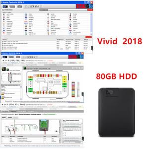80기가바이트 2018 최신 자동 복구 소프트웨어는 다중 언어를 HDD 생생한 워크샵 데이터 2018.1 ATRIS-Technik의 지원 유럽 모델까지