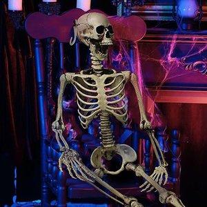 Decoration 90CM Halloween Haunted House puntelli di scheletro secco Corpo Scheletro Bambino Secret Room Bone Capo