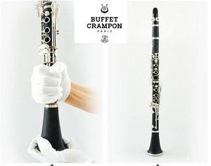 Français Buffet Crampon Clarinette 17 Bb R13 Clés bakélite Argent Clarinette clés avec accessoires Case instruments de musique Livraison gratuite