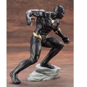 Marvel Actionfigur Avengers Black Panther Spielzeug Kotobukiya Artfx Statue 1/10 Maßstab vorgemaltes Modell Kit Pvc Sammlerstück Modell Y19062901