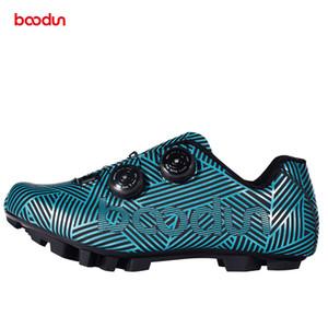 Boodun ciclismo sapatos Homens bicicleta sapatos respirável MTB não derrapante sapatos de bicicleta Atlético Sapatilha Corrida de ciclismo Auto-Lock Sneakers