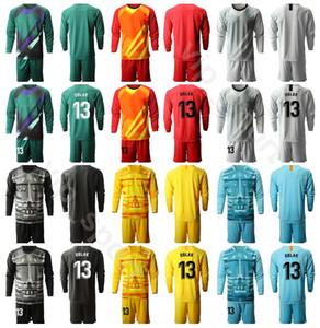 2020 Long Sleeve portiere di calcio 1 Antonio Adan Jersey Set Portiere 13 gennaio Oblak 1 Miguel Angel Moya Football Shirt Kit MJ Uniform