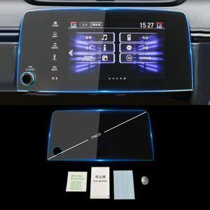 Para HONDA CR-V 2017 2018 2019 auto del coche del tablero de instrumentos de navegación GPS Monitor de protector de la pantalla de cristal templado de la película etiqueta Accesorios