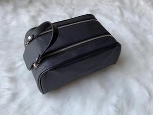 26CM de gama alta calidad hombres que fluyen las mujeres bolsa de aseo moda lavan bolso de grandes bolsas de cosméticos capacidad de tocador de maquillaje de la bolsa