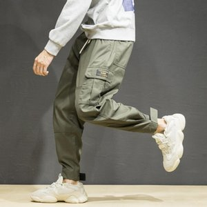 Zogaa 2019 Hot New Men's Spring Autumn Pants Multi-pocket Harem Hip Pants Streetwear Sweatpants Male Casual Fashion Trousers