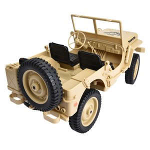JJRC Q65 2.4GHz RC Off-road 4WD Military Truck 1 10 Remote Control Light Jeep Four-Wheel Drive Off-Road Military Climbing Car