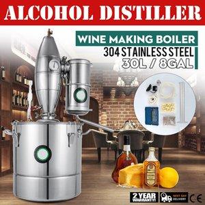 Álcool / orvalho Pure / óleo essencial Distiller Home Brew Equipamento vinícola Caldeira pequeno destilação destilaria de álcool