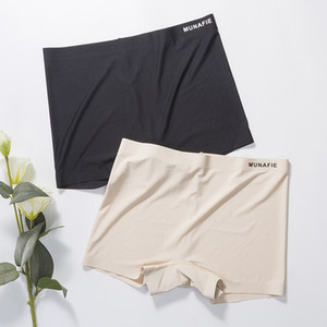 Frauen Sicherheits-Kurzschluss-Hosen Nahtlose hohe Taillen-Slip Seamless Anti Entleerte Boyshorts Hosen Mädchen Unterwäsche abnimmt