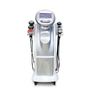 Nuevo modelo 80K + 40K Cavitación ultrasónica al vacío Cara Multipolar Cara RF Congelado Ultrasonic Wave Beauty Beauty Machine