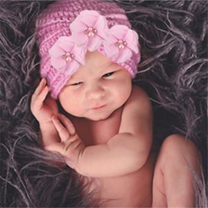 Nouveau-né Pudcoco Photographie Props Accessoires New Born Baby Hat Turban enfants garçon Chapeaux Bonnet enfant en bas âge fille hiver Bonnet printemps