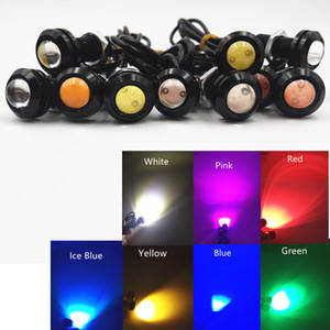 10Pcs LED 18mm Eagle Eye Light High Power lamp DRL Daytime Running Light parking lights Auto Fog bulb Backup car styling
