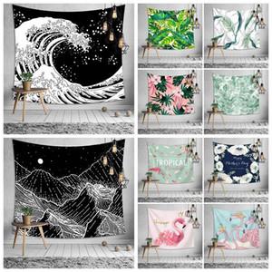 34 Стили Bohemian Mandala Гобелен пляжное полотенце Flamingo Печатный Йога Маты Полиэстер Полотенце Домашнее украшение CCA11529-A 10шт