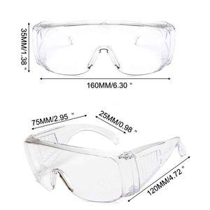 Proof Protecção dos olhos alta Qualidade Segurança Óculos Óculos EyeWear fechado Antifog Lab protecção anti-poeira vento Anti Chemical Limpar Óculos